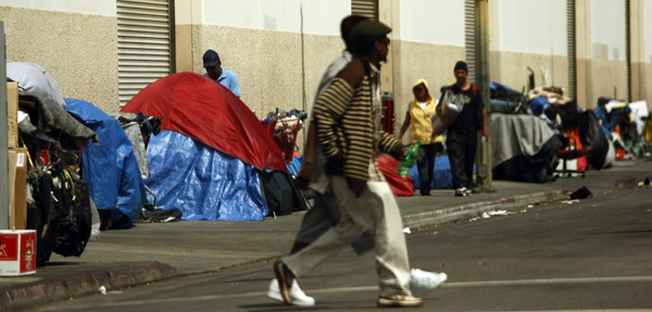 L a county to focus funds on chronically homeless for Homeless shelter in los angeles